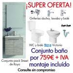 Super oferta conjunto baño - Hidro2 Grup