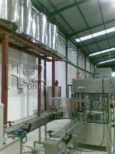 Hidro2 Grup - Trabajos de fontanería en nave industrial en Oliva